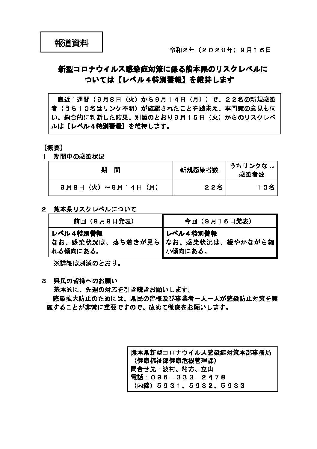 者 数 県 コロナ 感染 熊本